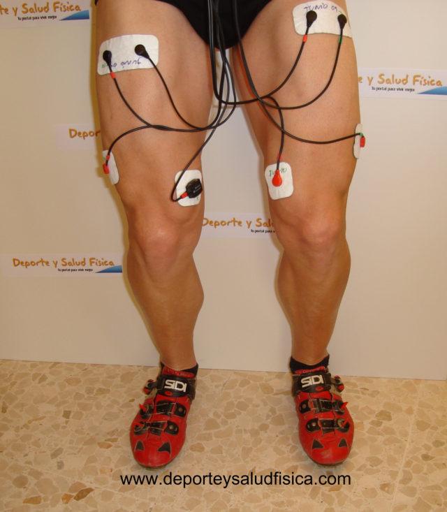 Electroestimulacion intensidad entrenamiento.