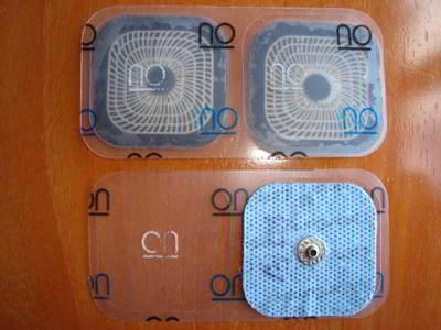 Parches electroestimulador compex. Para una efectiva electroestimulacion. Imagen www.electroestimulaciondeportiva.com