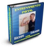 entrenamiento INICIAL de biceps triceps CON ELECTROESTIMULACION 1 www.electroestimulaciondeportiva.com