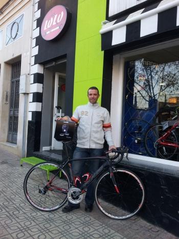 Concurso compex wireless reto Cavendish. Deporte y Salud Fisica. Pedro García