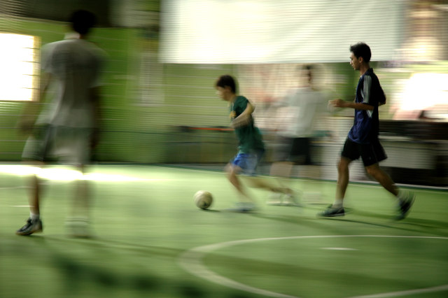 Peligros del deportista de fin de semana. Fuente imagen www.sxc.hu