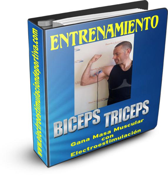 Gana masa muscular en biceps y triceps con la ayuda de la electroestimulación. www.electroestimulaciondeportiva.com