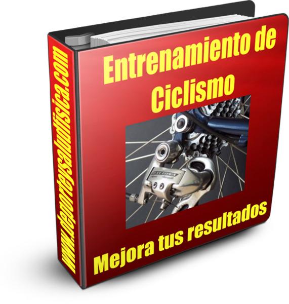 Entrenamiento de ciclismo en www.deporteysaludfisica.com