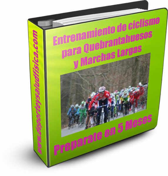 Entrenamiento de ciclismo para quebrantahuesos y marchas largas