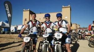 Equipo Compex Titan Desert 2014 en Marruecos