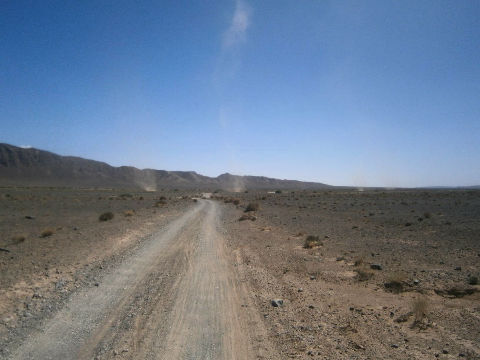 remolino 1 Titan desert