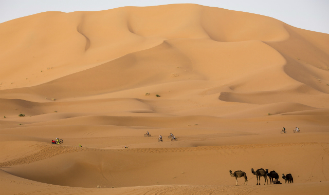 Titan deser en las dunas del desierto. 5ª etapa 2014