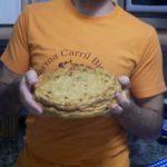 tarta casera de hidratos de carbono