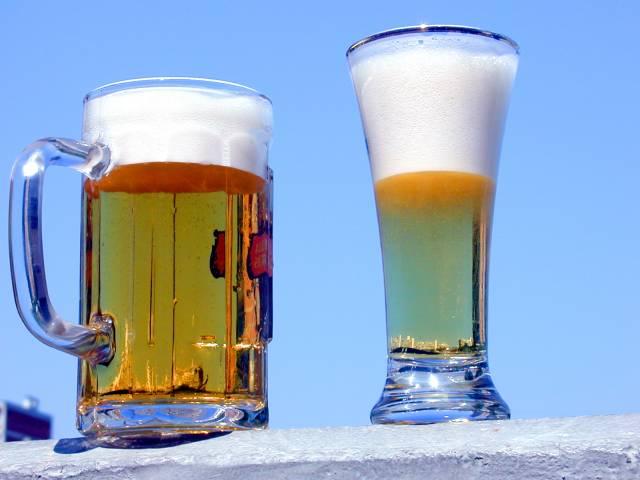 La cerveza en los bares no la ponen con lechuga