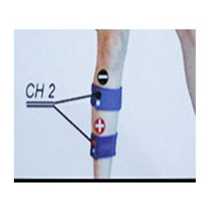 bandas elasticas electroestimulación para gemelos-brazos