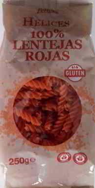 helices lentejas rojas