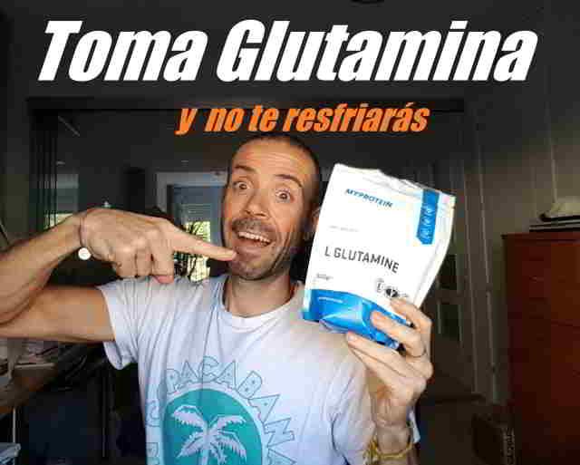 Tomar glutamina para recuperar y no perder músculo