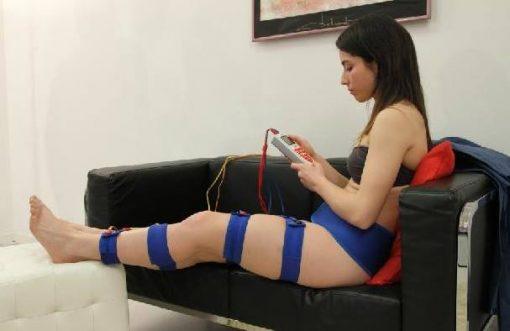 cintas elasticas electroestimulación eliminar liquido