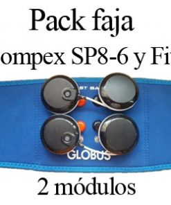 Pack faja 2 modulos compex wireless